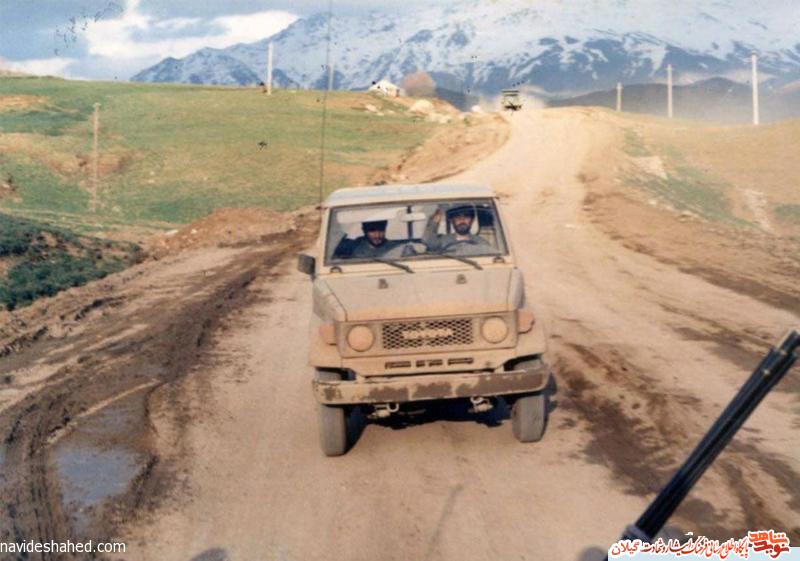 عکس| آخرین عکس سردار همیشه قهرمان استان گیلان